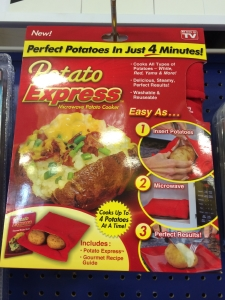 Because potatoes are difficult to cook.